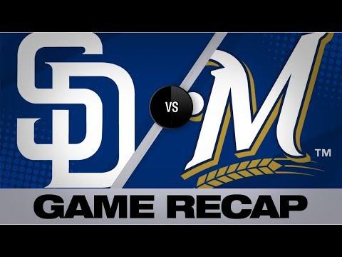Video: Mejias-Brean, Lamet lead Padres to 2-1 win | Padres-Brewers Game Highlights 9/18/19