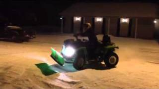 10. Arctic cat trv 650 h1 working