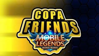 Tudocelular - COPA FRIENDS [AO VIVO] MOBILE LEGENDS: BANG BANG
