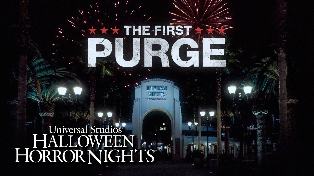The First Purge comes to Halloween Horror Nights