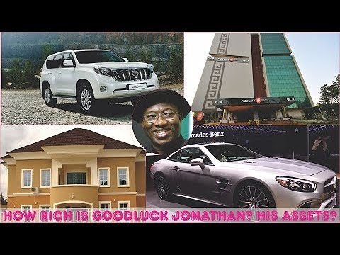 How Rich is Goodluck Jonathan? ► All Jonathan's Mansion, Cars, Companies, Real Estate & Luxuries