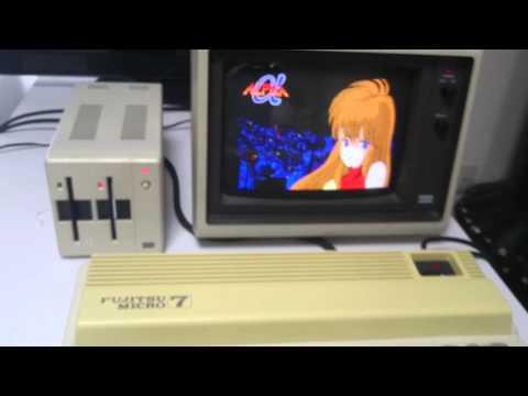 ALPHA on Fujitsu FM-7