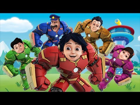 Video Shiva ANTV Transform into HULKBUSTER Finger Family Song Superhero Family for Kids and Toddlers download in MP3, 3GP, MP4, WEBM, AVI, FLV January 2017