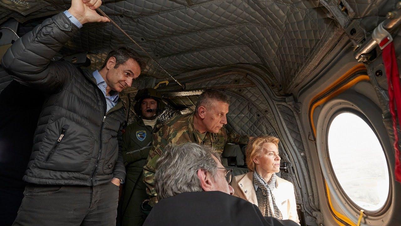 LIVE: Ελλάδα – Καστανιές – Σύνορα με Τουρκία – Kastanies border Greece