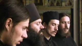 Hymn for Mother of God of St.Nectarius of Aegina in church-slavonic. St.Sergius & Herman of Valaam church. Valaam. Russia. 1998. Album