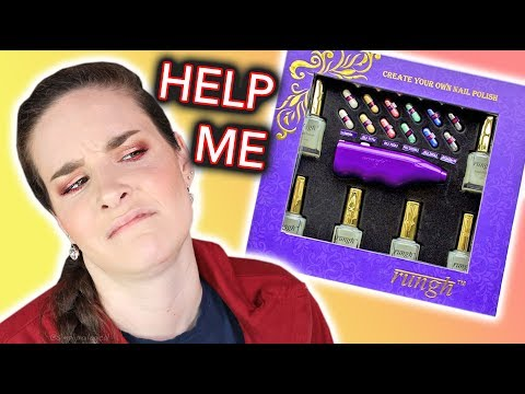 Simply Nailogical Makes Custom Nail Polish and Dies on the Inside