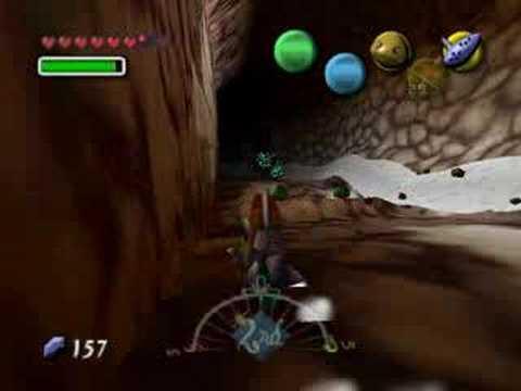 Pelea con Goht en Zelda majoras mask.