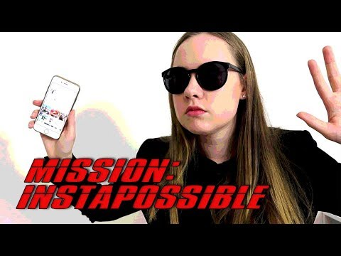 If Mission Impossible Was About Instagram Stalking