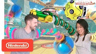 ARMS New Character Battle – Nintendo Minute
