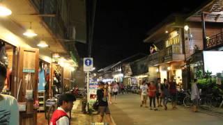 Loei Thailand  city photos : Chiang Khan, Loei Province Thailand บรรยากาศยามค่ำคืน ที่เชียงคาน จั