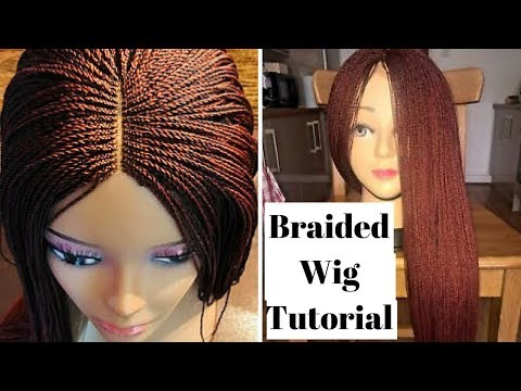 Braided Wig Tutorial (Beginner Friendly) | How To Make A Million Braided Wig Without Closure
