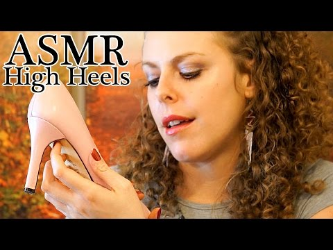 multiple heels and shoes - Amazon Wish List @ http://amzn.com/w/26WZISMTNR2Y Exclusive Content @ http://www.patreon.com/psychetruth ASMR High Heel Shoes Tingles #2 - Whisper, Tapping, ...