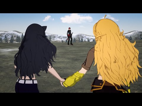 RWBY - Blake & Yang vs Adam (Full Fight Super-cut) [1080p]