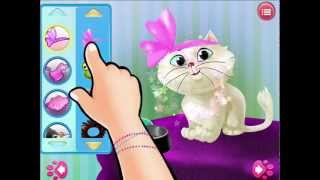 Kitty Cat Pet Dress Up & Care YouTube video