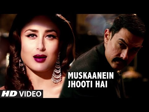 Talaash Muskaanein Jhooti Hai Full Video Song | Aamir Khan, Kareena Kapoor, Rani Mukherjee Talaash Muskaanein Jhooti Hai Full Video Song | Aamir Khan, Kareena Kapoor, Rani Mukherjee