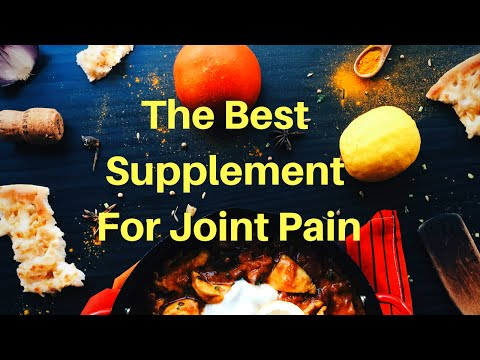Supplement Turmeric Curcumin For Joint Pain Or Knee Pain