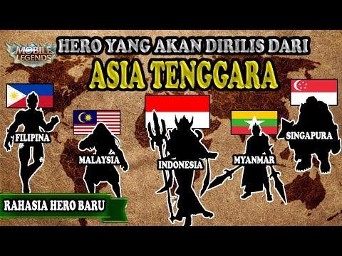 Download Video TERUNGKAP !! INILAH DAFTAR HERO BARU YANG MEWAKILI NEGARA DI ASIA TENGGARA