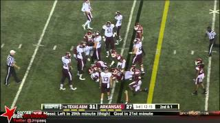 Chris Smith vs Texas A&M  (2013)