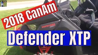 8. 2018 CanAm Defender XTP quick look in 4k