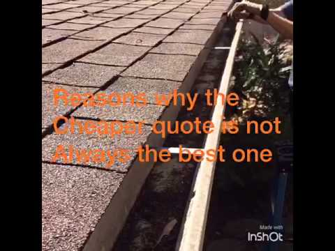 Why taking the cheaper quote is not always the best choice