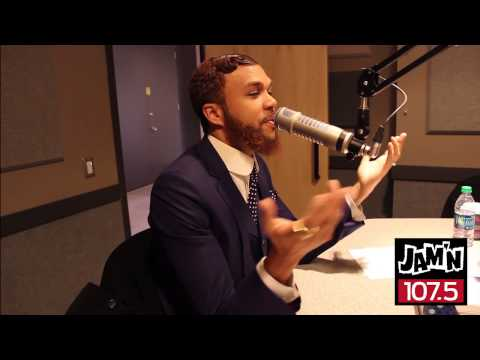 Jidenna Interview With JAM'N 107.5