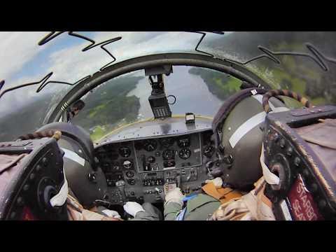 windermere - XW325 (G-BWGF) is a Jet Provost TMk5A. This aircraft was part of the Low Level and Air Defense Squadron based at RAF Finningley in Yorkshire. This is a video...
