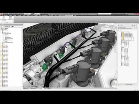 Associatively connect 2D schematic data to their 3D model counterparts: An electro-mechanical workflow speeds the design process and helps reduce the likelihood of design errors. (video: 2.21 min.)