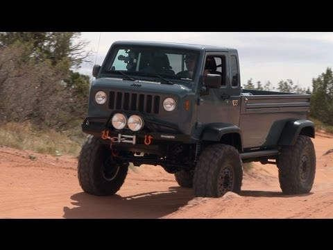 Moab - On this episode of The Downshift, we head to the 2012 Easter Jeep Safari to check out Jeep's Mighty FC Concept. Watch this rock-ready concept conquer the Moa...