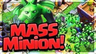 Video MASSIVE MINIONS! All Beta Minion Attacks on Clash of Clans Builder Hall Bases! MP3, 3GP, MP4, WEBM, AVI, FLV Oktober 2017