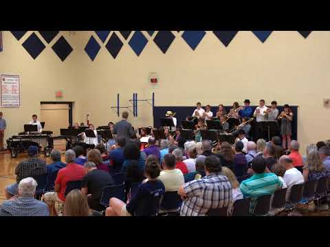Jackson Middle School Jazz Band - Traces