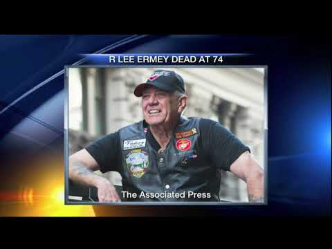 Video: R. Lee Ermey dies at 74 - selection