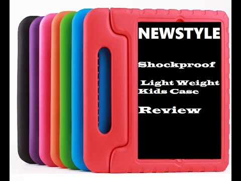 NEWSTYLE Shockproof Light Weight Kids Case Unboxing and review