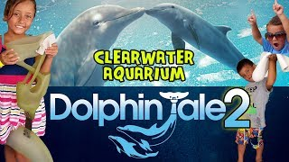 Meeting Winter & Hope from Dolphin Tale 2 @ Clearwater Aquarium July 2014 Florida Trip Part 3