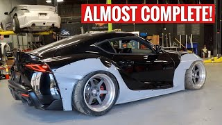 FINALLY Widebodying my 2020 Toyota Supra!!!! by TJ Hunt
