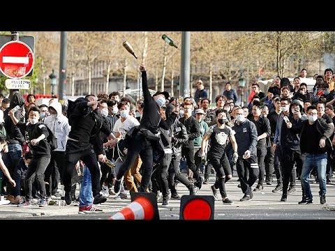 Δικαιοσύνη ζητούν οι Κινέζοι του Παρισιού για τον θάνατο ομοεθνή τους