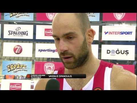 Post-game interview: Vassilis Spanoulis, Olympiacos Piraeus