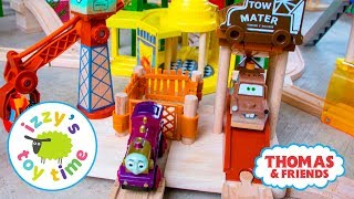 Video Thomas and Friends | Thomas Train RARE Pixar Cars Mater's Tow Yard | Fun Toy Trains for Kids MP3, 3GP, MP4, WEBM, AVI, FLV Mei 2017