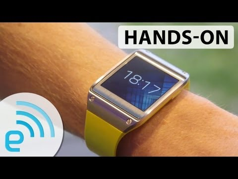 handson - The Galaxy Gear, as we've known it to be called for a few weeks now, was hardly guarded with a level of secrecy that's become standard for a flagship smartph...