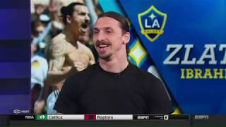 Video Zlatan Ibrahimović visits ESPN's SportsCenter MP3, 3GP, MP4, WEBM, AVI, FLV Agustus 2018