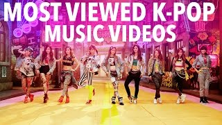 These are the 100 most watched K-Pop music videos on Youtube as of March 1st, 2017. They're basically the Most Popular K-Pop Music Videos of All Time! I've e...