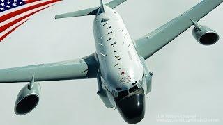 2016年12月:アメリカ空軍のRC-135V/Wリベットジョイント、F-15Eストライクイーグル、A-10サンダーボルトIIへのイラク上空での空中給油。 USAミリタリーチャンネルのチャンネル登録はこちら→https://www.youtube.com/subscription_center?add_user=...