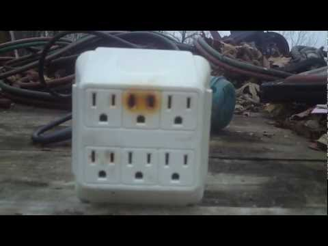 Fire hazard potential~6 outlet wall adapter!