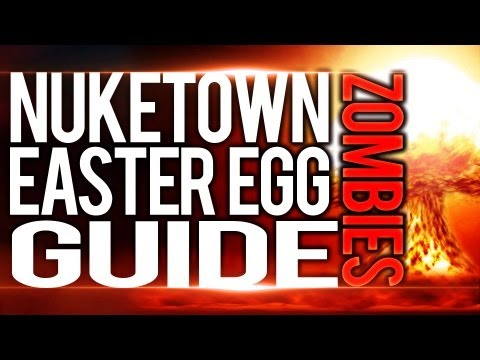 Nuketown Zombies | Complete Easter Egg Guide! (Call of Duty: Black Ops 2)