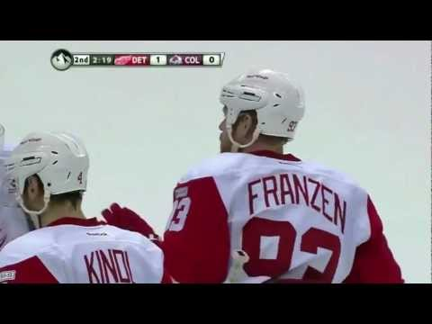 Johan Franzen's BLAST (10/8/11) [HD]       - YouTube