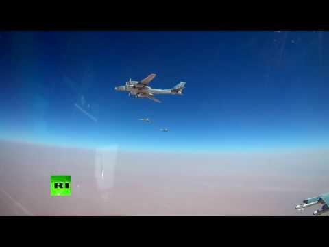 Стратегические ракетоносцы Ту-95МС нанесли удар ракетами Х-101 пообъектам террористов вСирии