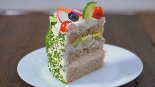 OUTRAGEOUS Sandwich Cake Recipe by SORTEDfood