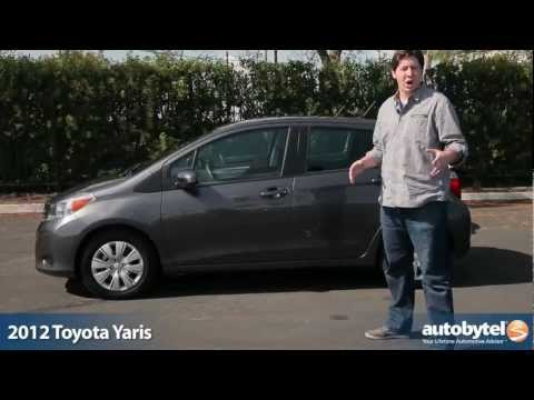 2012 Toyota Yaris: Video Road Test and Review