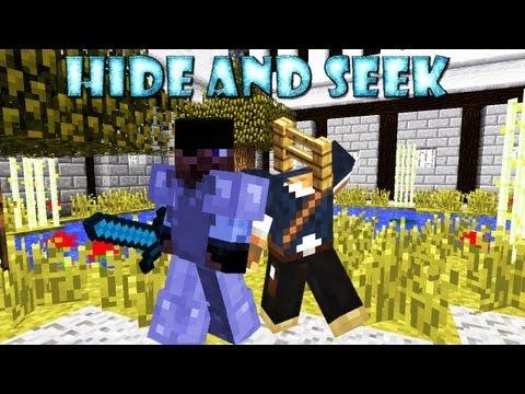 Minecraft:Hide And Seek (Пряточки) [ЗАБОР... ТАКОЙ ЗАБОР...]
