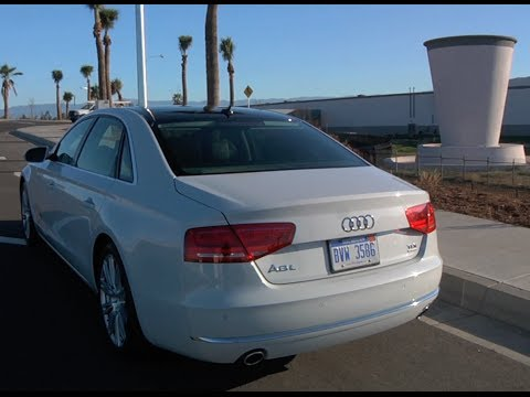 Audi A8 TDI: Range For Days… Literally