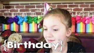 Eden's JoJo Siwa Birthday Party ║ Large Family Vlog │ 9th Birthday